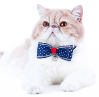 Custom Pet Bow Tie With Bell Clothes