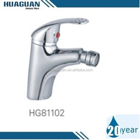 Single Handle Bidet Faucet with Brass Body and Zinc Handle