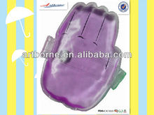 Efficient hand massage glove shape snap heat pack (CE, FDA approved)