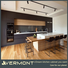 2018 New Design Hangzhou Vermont Australia Modern Handleless Style Lacquer Flat Pack Modular Kitchen Cabinet