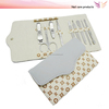 9pcs stainless steel manicure set for girls branded manicure pedicure set