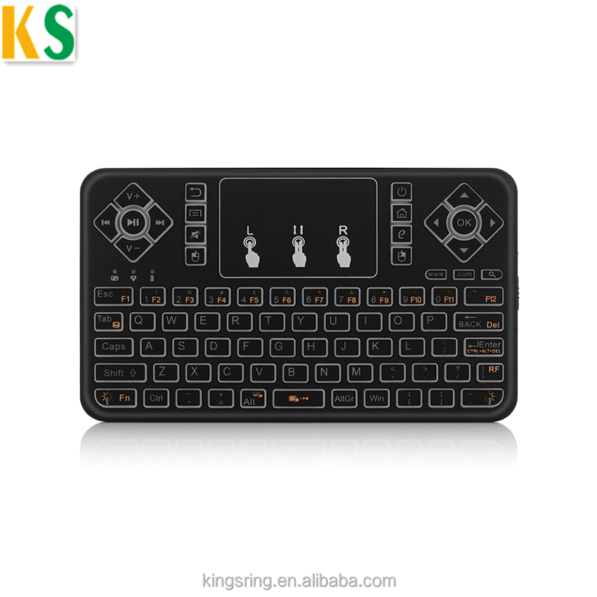 Q9 backlit BT keyboard for smart tv and tv box Muti-function backlight 2.4G wireless mini keyboard