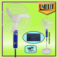 "Strong air flow 16"" 12 volt dc fan Floor Standing dc Fan ac dc floor fan 18''"