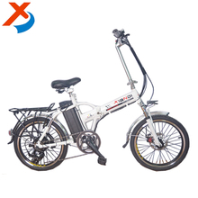 20'' 36v 250w China fashion design powerful lighing folding road e-bike with lithium battery,electric bike for two person