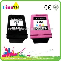 Ink Cartridges for printer Remanufactured Ink Cartridge for hp 703 replaced inkjet cartridge compatible for hp