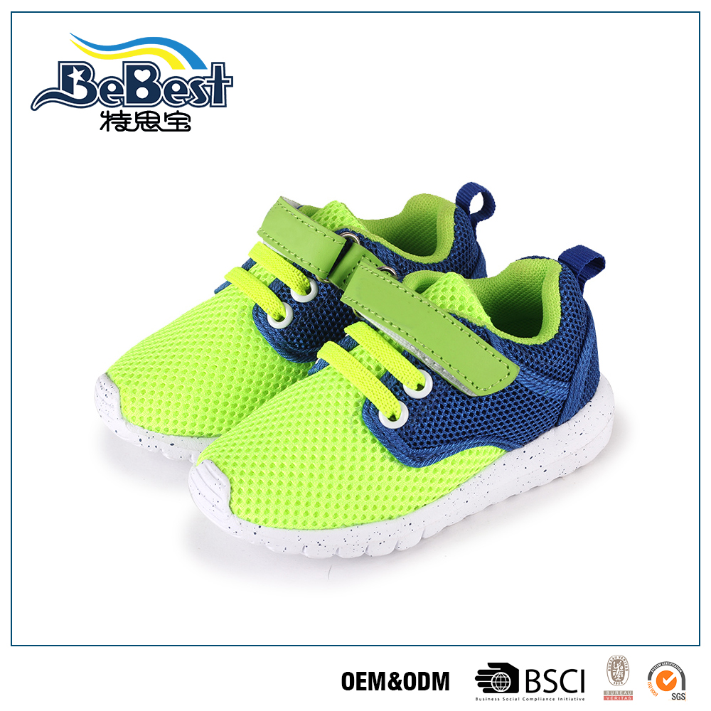 2016 Wholesale new design baby shoes school shoes for kids