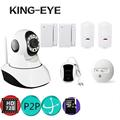 P2P, PNP,Plug&Play compatible to wireless 433mhz accessories wifi camera kit