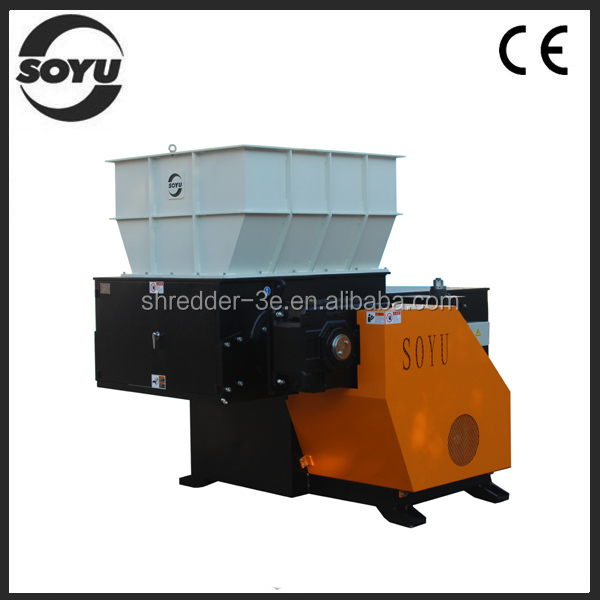 Waste plastic recycle shredder