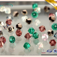 Wholesale Crystal Glass Bicone Beads Loose