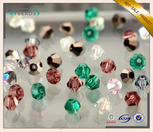 Wholesale Crystal Glass Bicone Beads Loose Jewelry Beads From Factory Detail