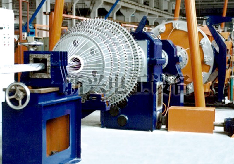 2016 popular style steel wire armoring machine used wire and cable equipment