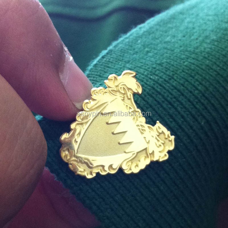 magnetic coat of arm pin badge for Bahrain national day gifts 2014