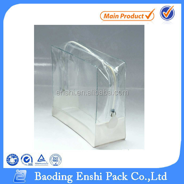 Portable Transparent Womens Toilet Bag