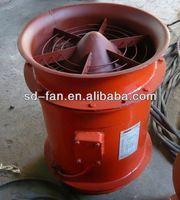 mining fire resistant vent duct (mine fan)