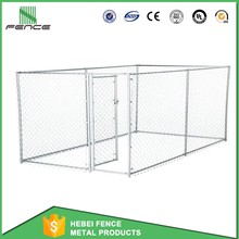 Low Carbon Steel Dog Proof Fence / Portable Dog Runs Fence