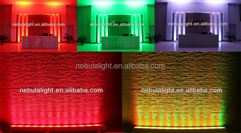 Nebula Outdoor RGBW IP65 LED Outdoor Strip Wall Washer Light