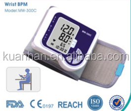 China Best Quality Multi-Functional Wrist Watch Electronic Wrist Blood.pressure monitor