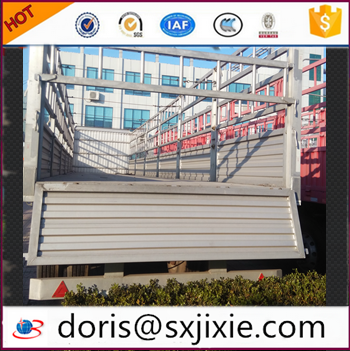 aluminium alloy trailer, used semitrailer, fence trailer