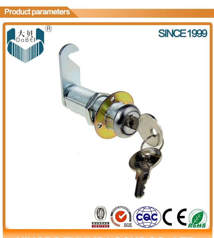 310-BB-54 USA high quality CH751 cam lock with stainless steel dust proof cover (M19*L54mm)