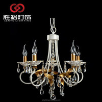 2015 design Die casting crystal Copper flower chandelier lamp wall light pendant light candle light