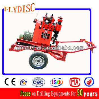 0-300m Depth Geotechnical Drilling Rig,Core Sample