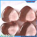 Volume manufacture fire pit decorative glass pebble,garden pebble stone products,plastic pebble