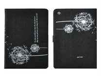 Hot Design Dandelion Pattern Stand Leather Case for iPad Mini