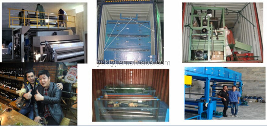 Automatic PVC Film/Fabric Laminating Machine for Sofa Materials and Garment