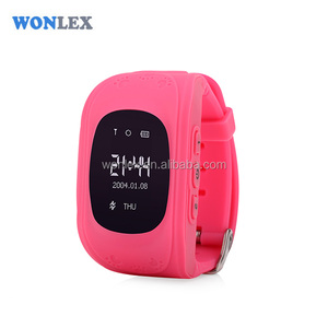 Brand Wonolex Wrist Watch GPS Tracking Device smart kids micro gps tracker sim card tracker