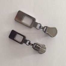 High Quality Gunmetal Luxury Zipper Puller Tabs