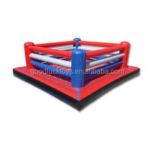 Exciting Inflatable Boxing Ring / Inflatable Fighting Court For Sport Games