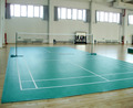 Indoor sports flooring, pvc flooring, badminton