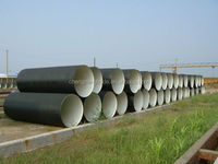 "ISO2531 K9 4""-48"" DN100-DN1200 Ductile Iron Pipe"
