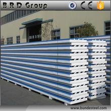 Green building material heat insulation EPS sandwich panel for wall