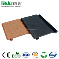 Low Maintainence Outdoor Wood Plastic Composite Wall Panel Cladding