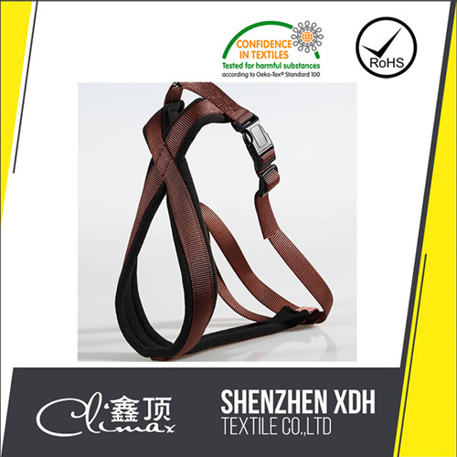high quality soft weighted dog harness