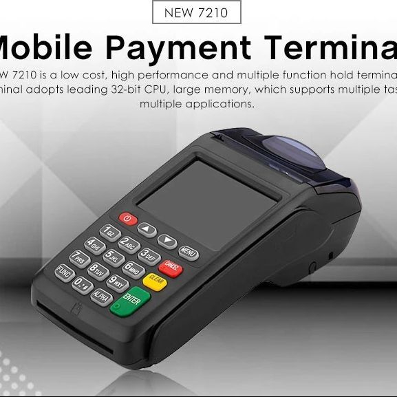 NEW8210 Wireless Credit Debit Card Machine Visa POS Payment Terminal