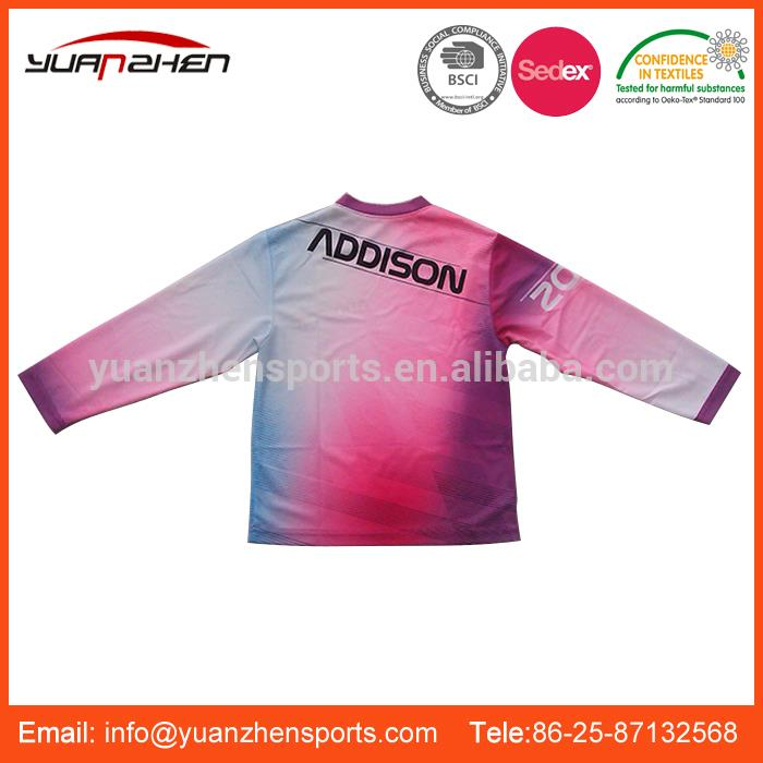 YuanZhen-Made in china color brilliancy exquisite workmanship custom motorcycle jersey made in china