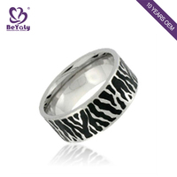 Custom-make cheap price 316l stainless steel jewelry ring
