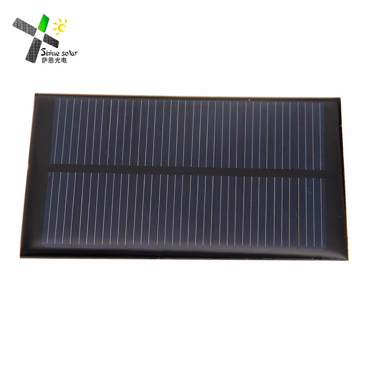 Sunpower cells customized Mini Solar energy epoxy resin solar panel