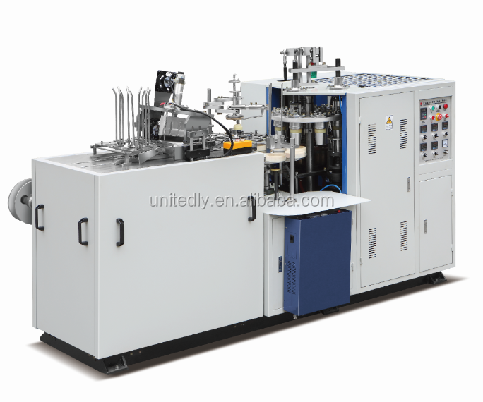 recycle automatic paper cup making machine with very good price with CE certificate