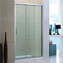 new design bathroom walk in easy clean tempered nano glass shower screen
