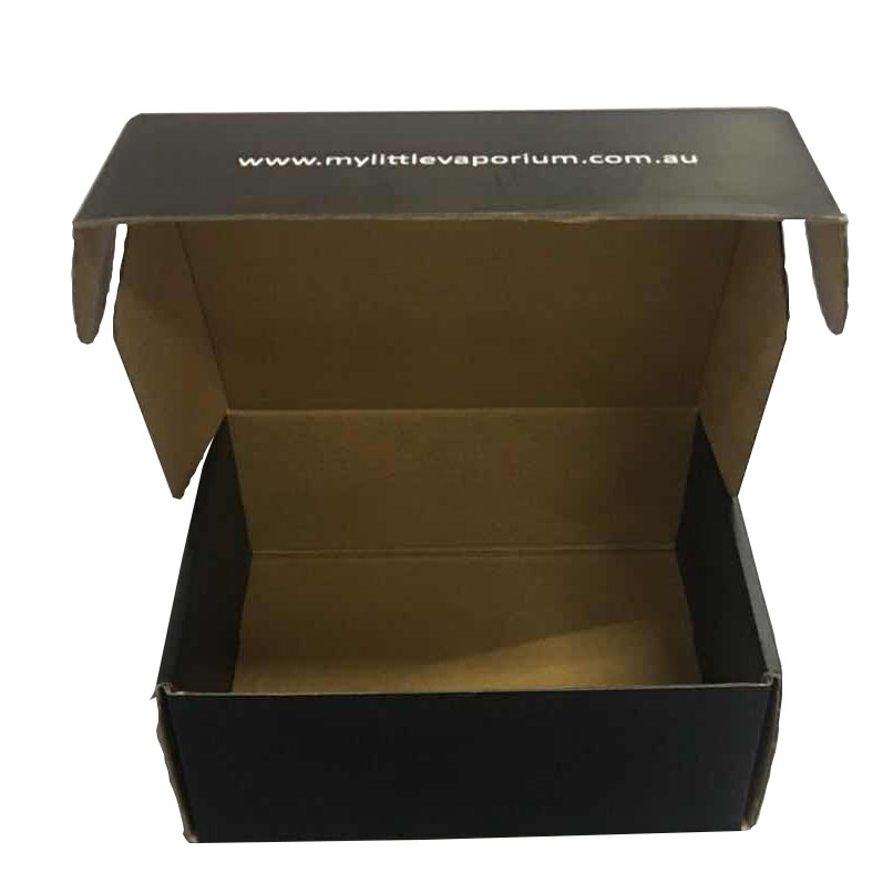 Printed Corrugated Plastic Board Black Box for Packaging