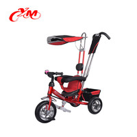 wholesale new models kids tricycle baby push trike with canopy/4 in 1 children smart trike/children ride on toy pedal tricycle