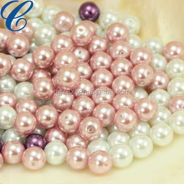 New Arrival high quality chunky pearl beads artificial loose pearl