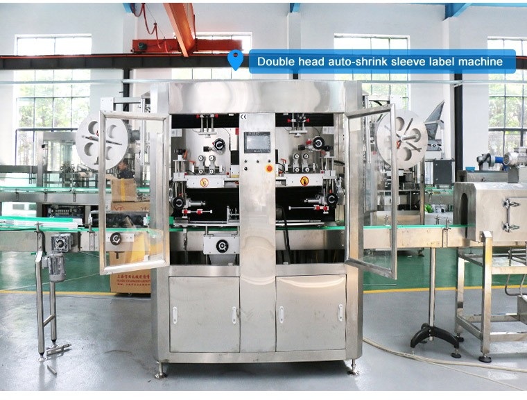Automatic Sleeve Shrink Labeling Machine For Plastic Bottle