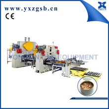 Automatic two piece tinplate can making line