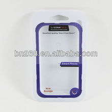 Iphone 4 case pvc blister packing,mobile phone accessories packing