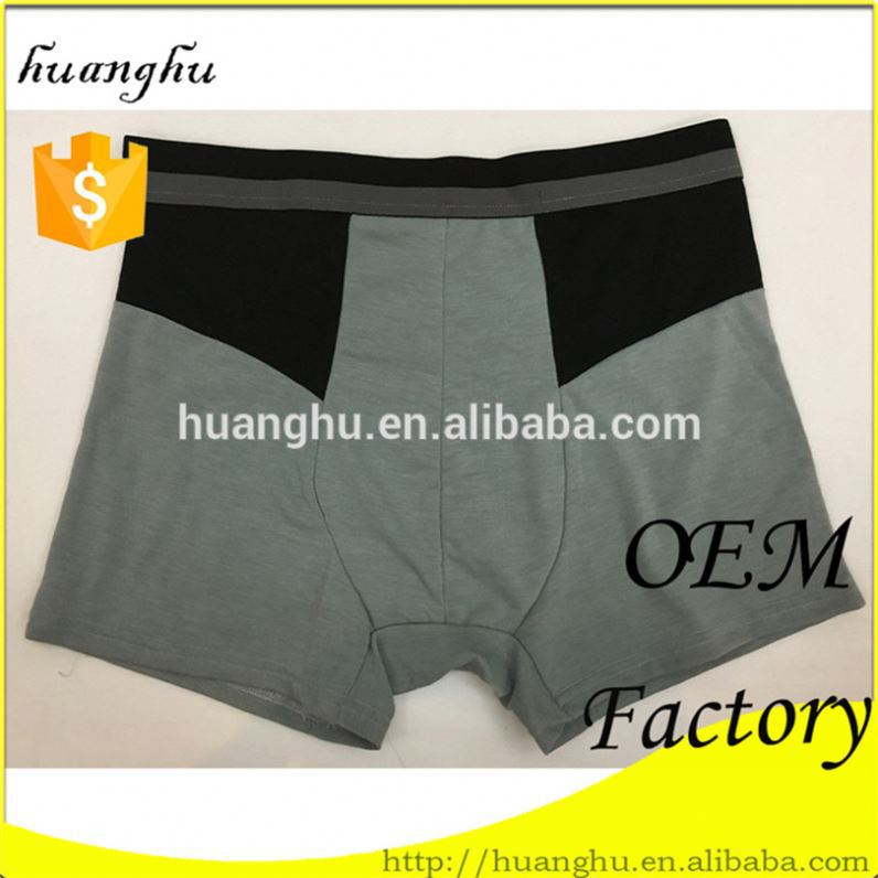 China manufacturer breathable men open crotch underwear
