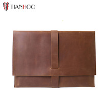 "11"" 13"" 15"" 15.6"" inch custom genuine Leather Laptop Sleeve/Bag/Case/Cover for Macbook Pro etc"